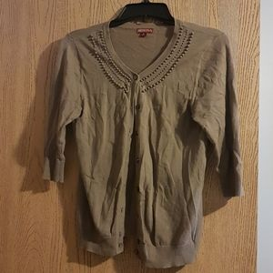 Brown small merona cardigan